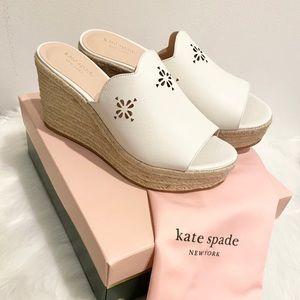 Kate Spade Espadrille Wedge Sandal NIB